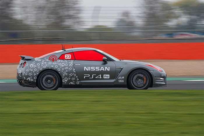 Nissan GT-R /C Flies Around Silverstone with No Driver Inside