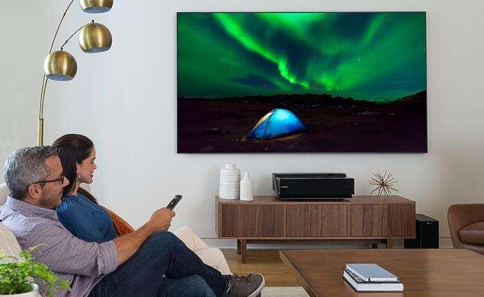 Hisense 100 Inch 4K Laser TV