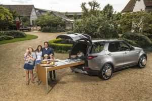 Jamie Oliver Gets a Land Rover Discovery with a Full Kitchen Inside