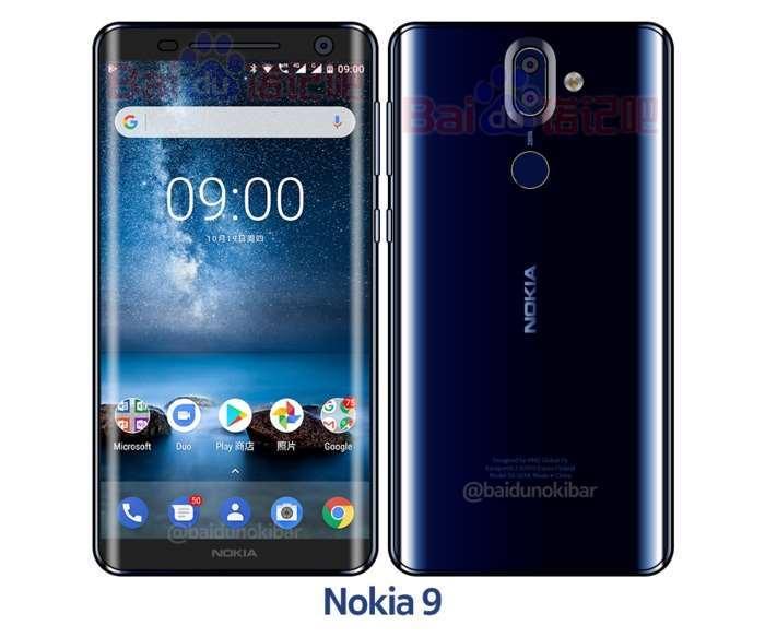 New Nokia 9 Smartphone Leaked Again