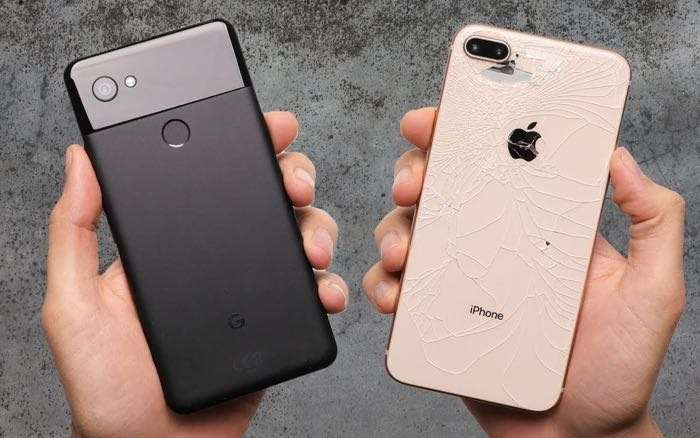 iPhone 8 vs Google Pixel 2