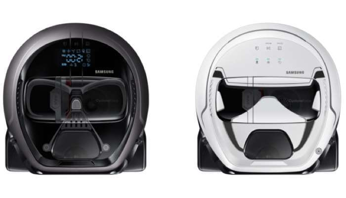 Samsung Star Wars Limited Edition POWERbot Robot Vacuum