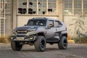 Rezvani Tank XUV is a Bulletproof Off-Roader