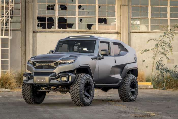 Rezvani Tank is an extreme Jeep Wrangler with 500-HP