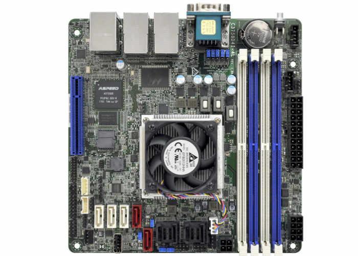 Mini-ITX motherboard ASRock C3758D4I-4L