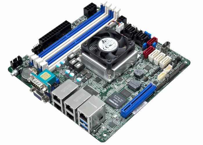 ASRock C3758D4I-4L Mini-ITX motherboard