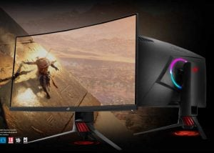 ASUS ROG Strix XG32VQ 32-inch Curved Gaming Monitor Introduced