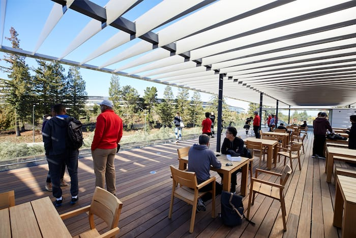 Visitor Center raises the roof on Apple's new headquarters
