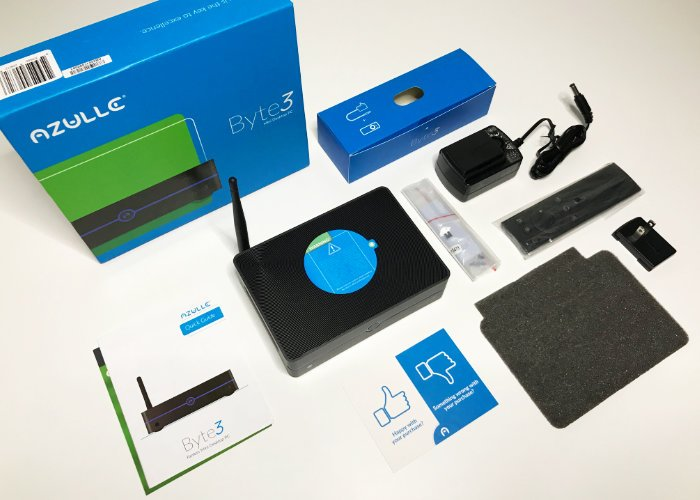 Azulle Byte 3 Mini PC unboxing-1