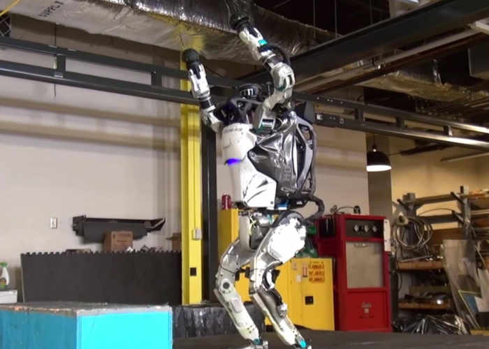 Backflip Robot Demonstrated by Boston Dynamics