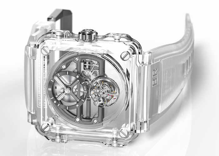 Bell & Ross BR-X1 Skeleton Tourbillon Sapphire Watch