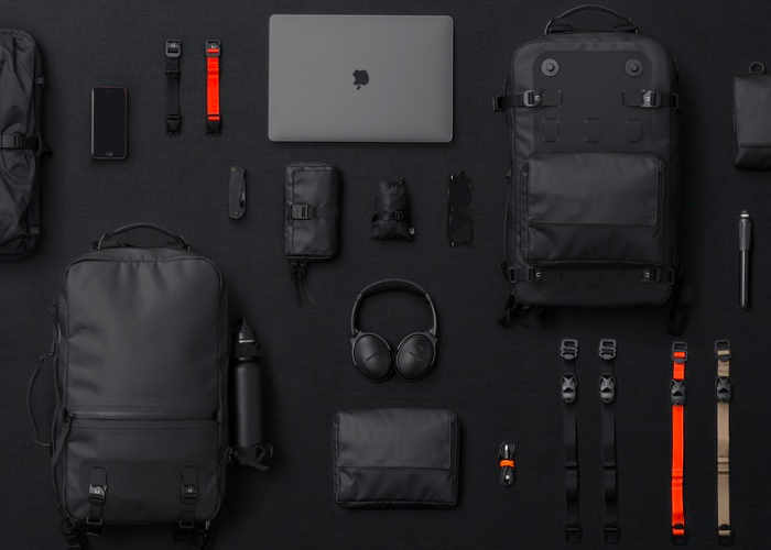 Black Ember Modular Everyday Backpack