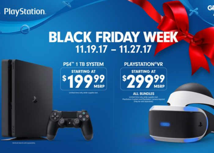 Black Friday 2017 PlayStation