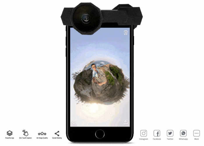 Capture iPhone 360 Degree Smartphone Video Using Fusion