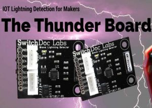 Count And Register Lightning Bolts Using Thunder Board And The Internet Of Things