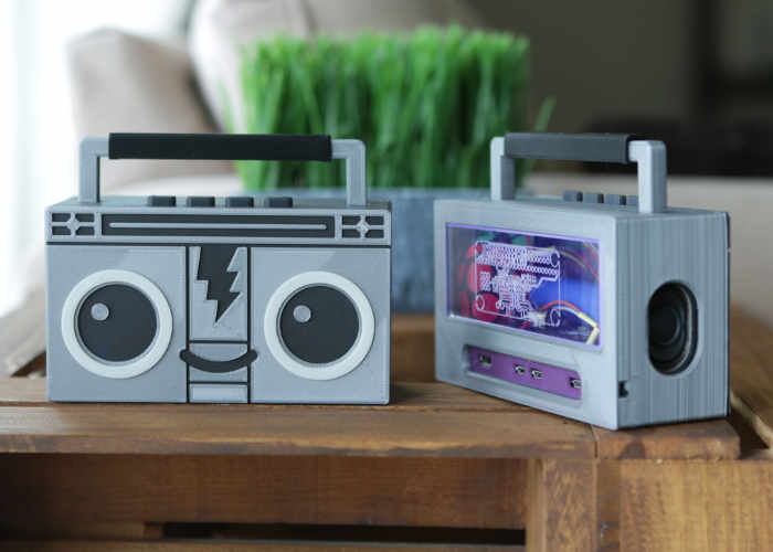 DIY Raspberry Pi Airplay Boombox