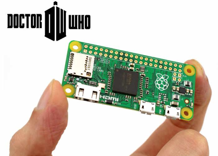Doctor Who Theme Played On Raspberry Pi Zero Mini PC Synth - Geeky