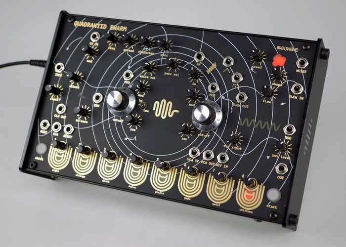 Eowave Quadrantid Swarm Experimental Touch Synthesiser