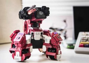 GEIO FPS Battle Robots With Visual Recognition