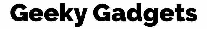 Geeky Gadgets Logo