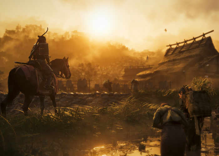 Ghost of Tsushima Announcement Trailer