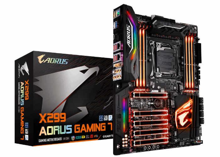 Gigabyte X299 AORUS 7 Pro Gaming Motherboard