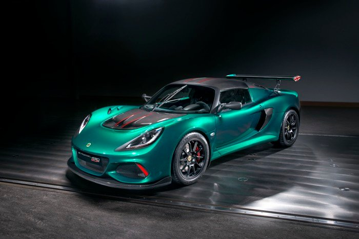 Lotus has released the extreme 430-horsepower coupe Exige Cup 430