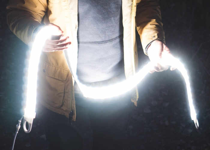 Luminoodle 3,600 lumens Of Bendable Light