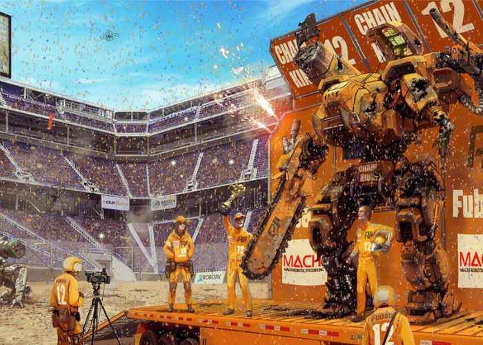 MegaBots Giant Robot Tournament