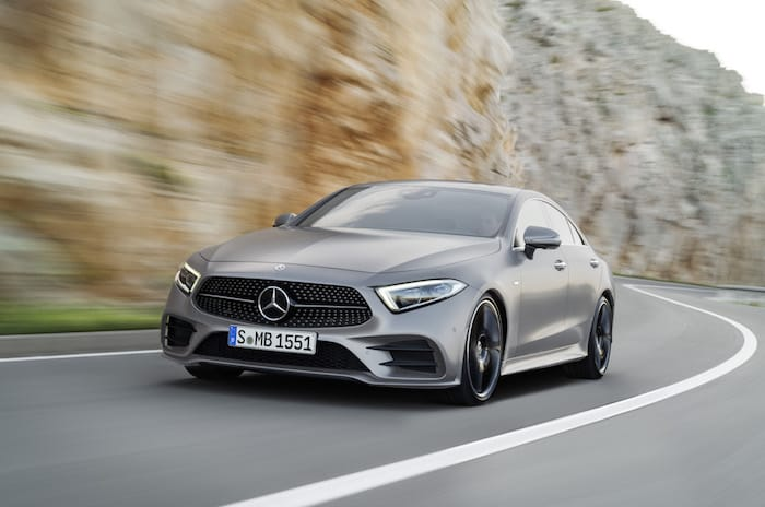 New Mercedes CLS 4-door coupe officially revealed in LA