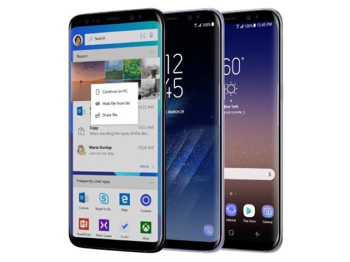 Microsoft Edition Samsung Galaxy S8