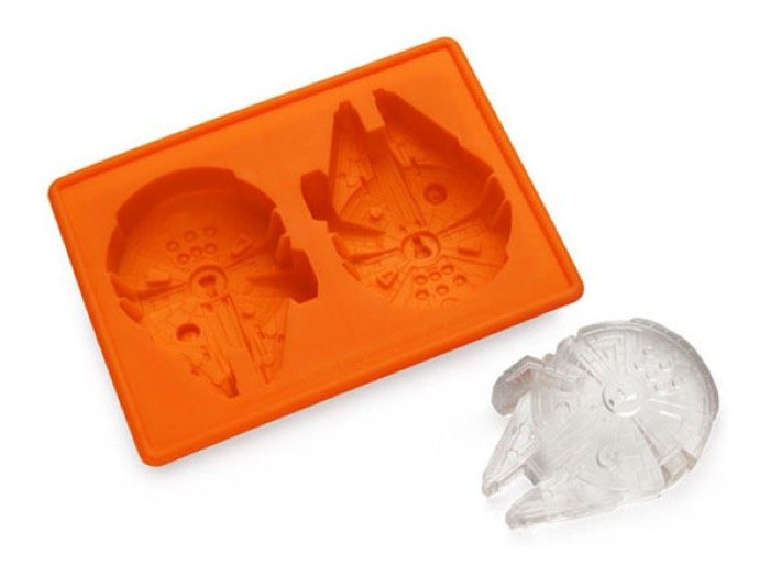 Millennium Falcon Ice Molds