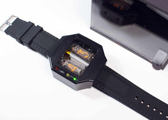 Moonracer Nixie Tube Watch
