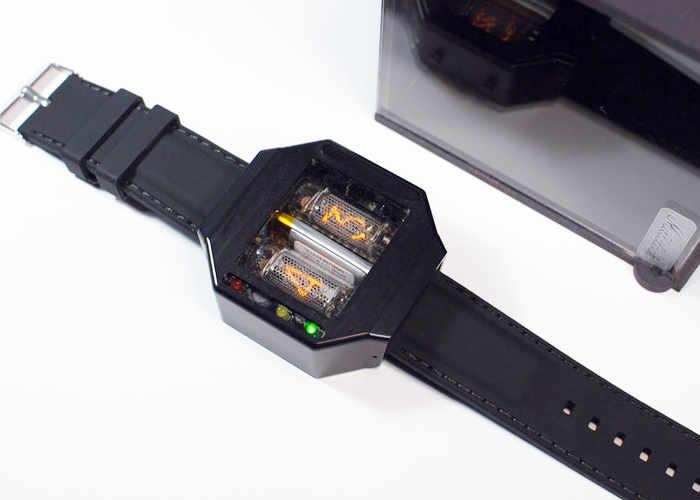 Moonracer Nixie Tube Watch