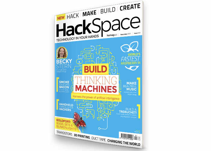 New HackSpace Magazine