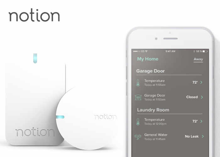 Notion Home Security And Monitoring System Geeky Gadgets