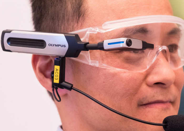 Olympus EyeTrek El-10 Open Source Smart Glasses