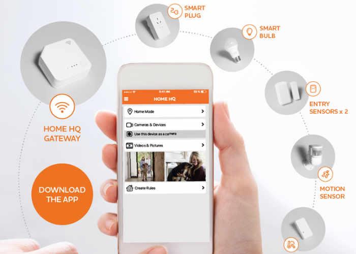 Origin Energy HomeHQ Smart Home System