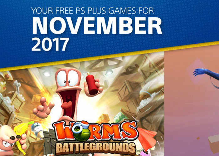 PS Plus Free Games for November 2017