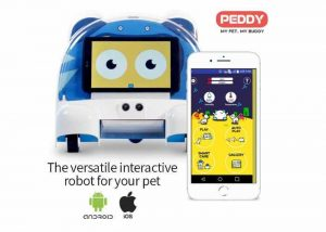 Peddy Interactive Robot for Your Pet