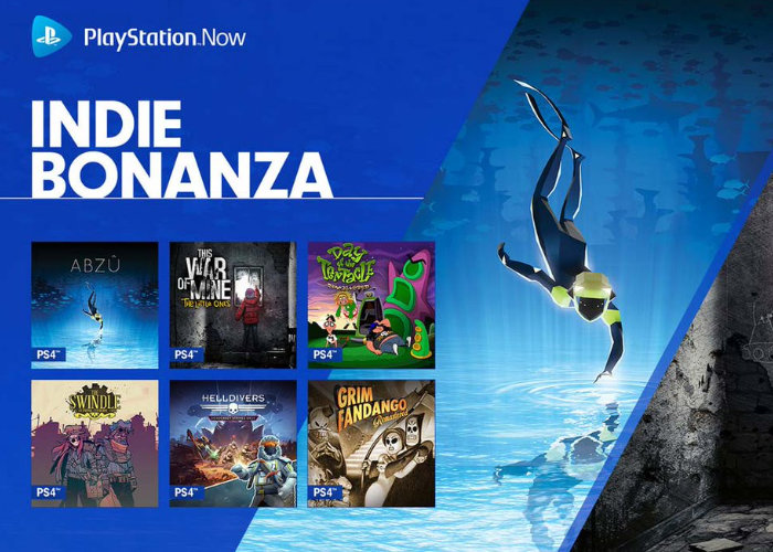 PlayStation Now November 2017