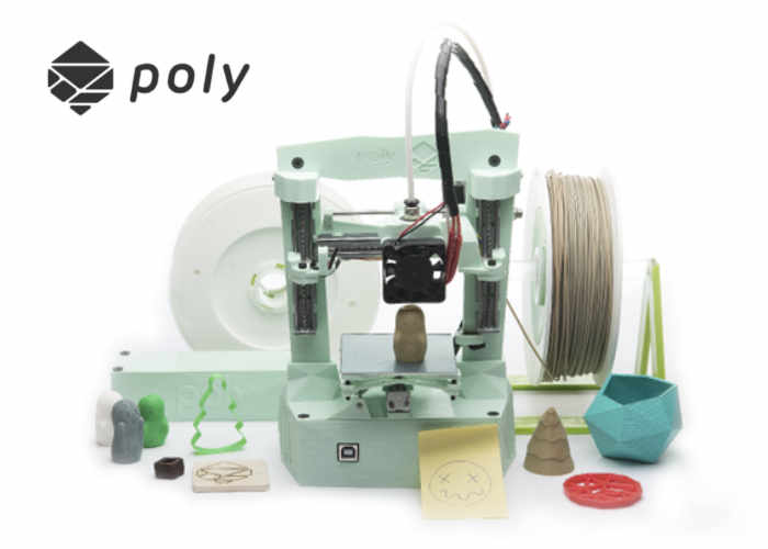 Poly Desktop 3D Printer And Engraver