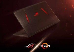 Asus ROG Strix GL702ZC, First Ryzen 7 Laptop Unveiled