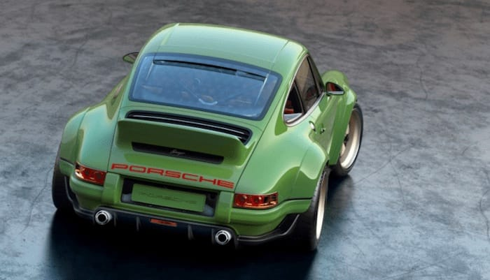 New Porsche 911 By Singer Vehicle Design Features 500 Horsepower Williams Engine