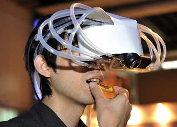 Smellable Virtual Reality