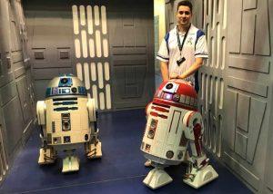 Star Wars Robot R4-P17 Replica Built Powered By Arduino