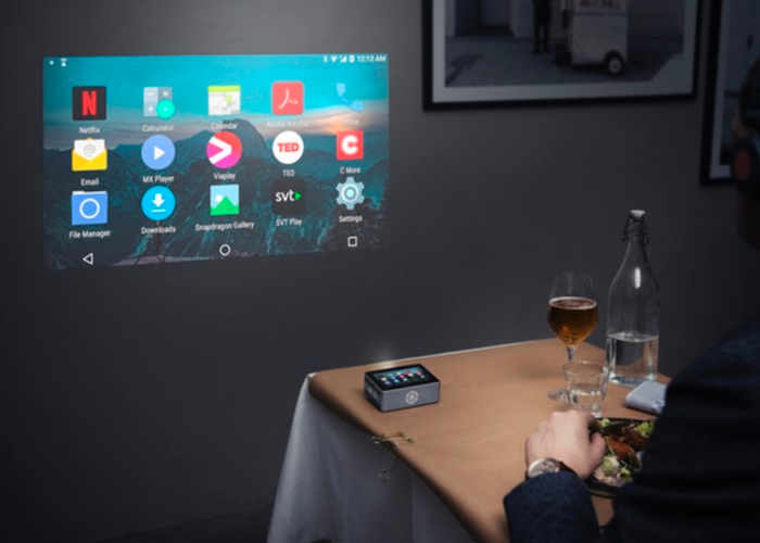 Sweam Pocket Touchscreen Smart Projector
