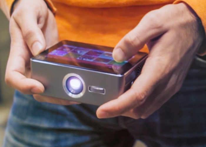 Sweam Pocket Touchscreen Smart Projector