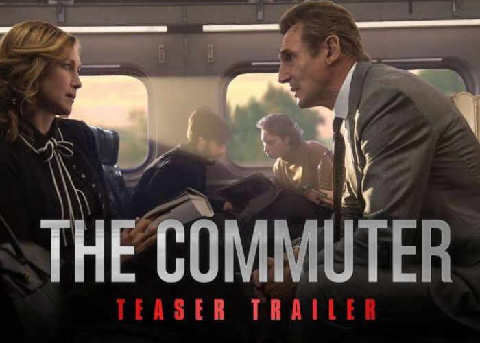 The Commuter Starring Liam Neeson