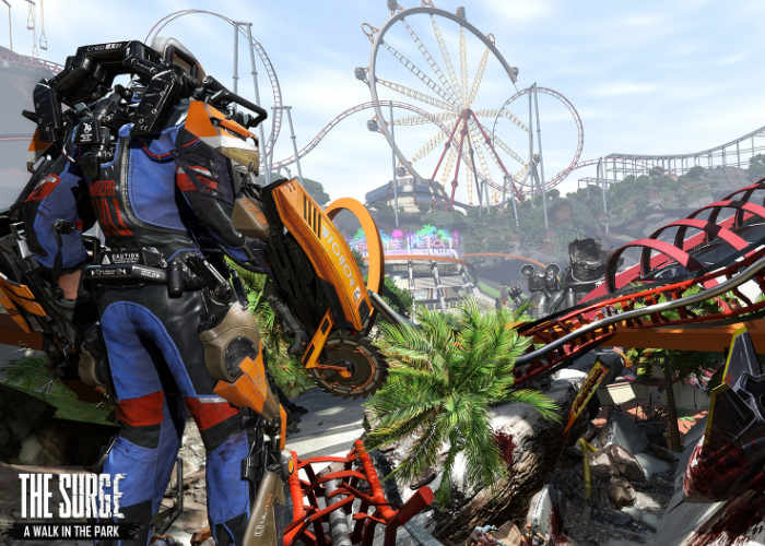 The Surge's new expansion has you fight murderous theme park mascots